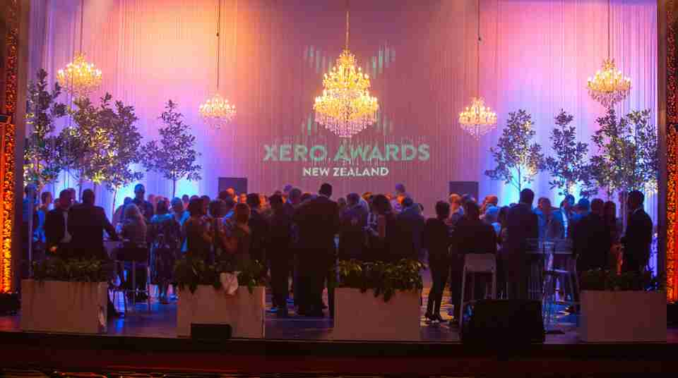 The opera house cocktail event onstage XERO awards 2019